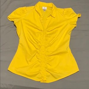 Tops - Dress blouse with ruffle
